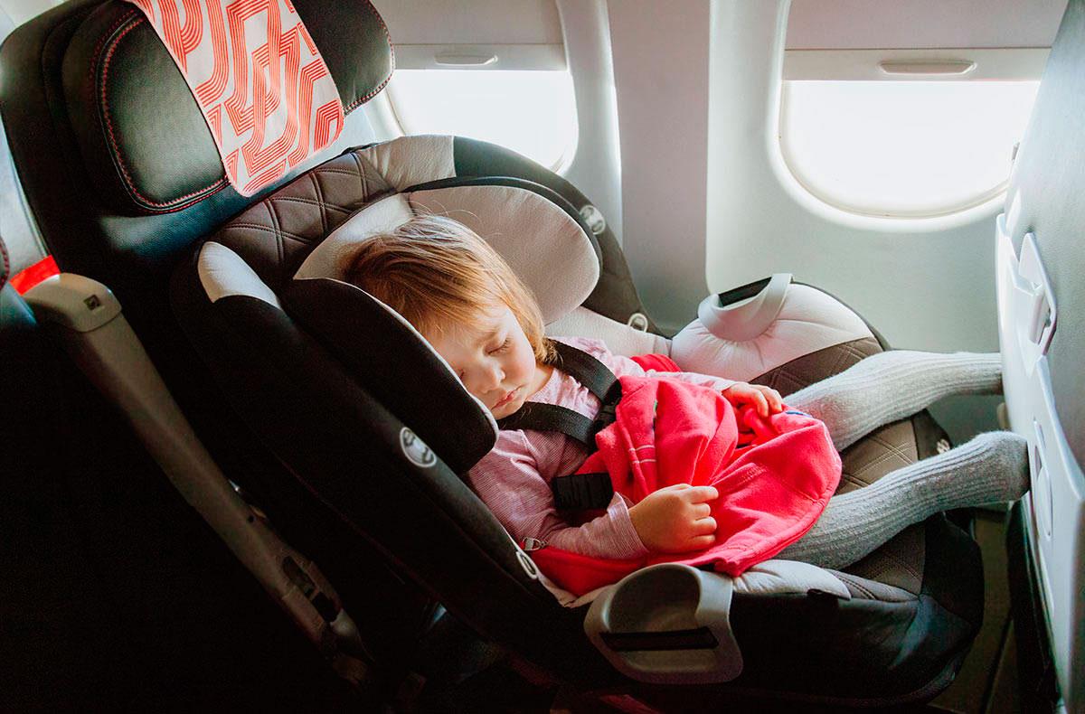 перелет с ребенком до 2 лет