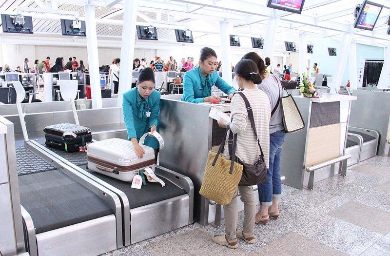 оформление багажа в аэропорту