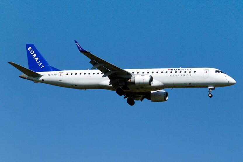 BoraJet: история авиакомпании, сервисное обслуживание