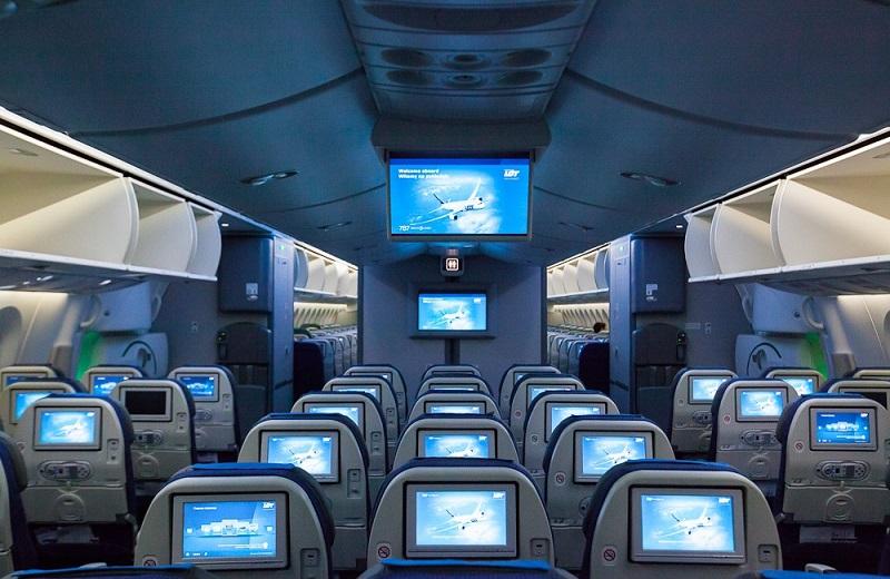 Выбираем место в самолете по электронному билету