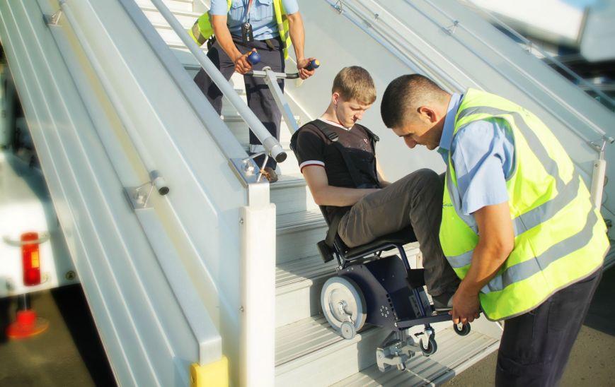 перелет инвалида колясочника в самолете