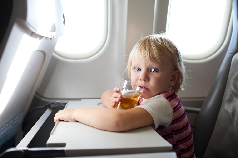 правила перелета с детьми до 2 лет
