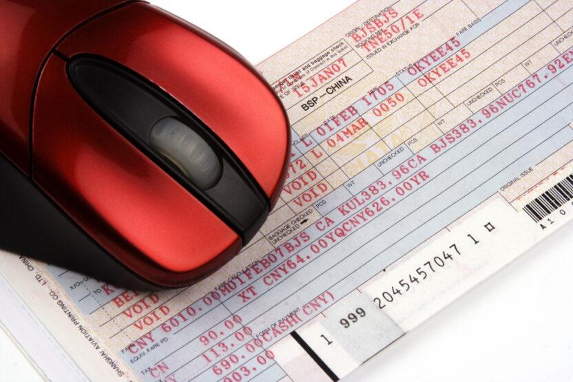 Электронный билет для командировочных лиц