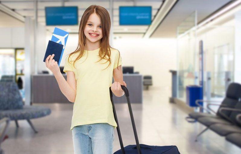 Перелет несовершеннолетнего ребенка за границу