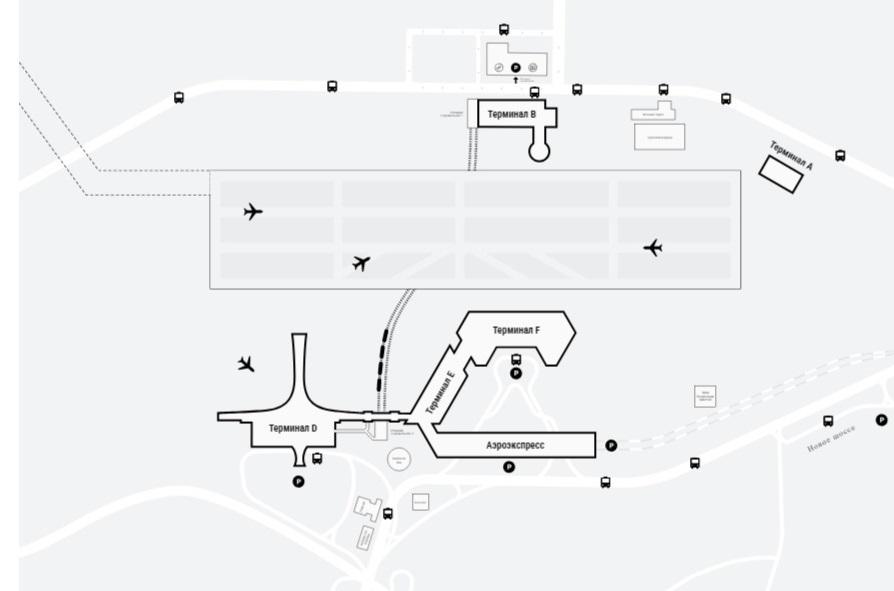 Парковки в Шереметьево