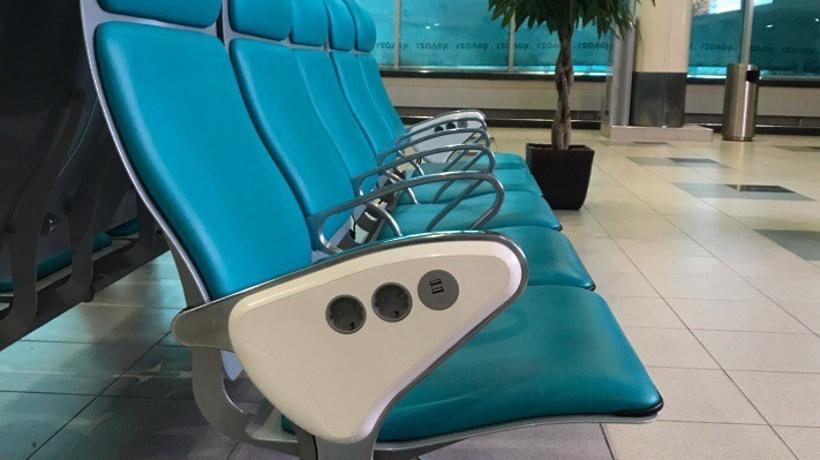 Кресла с розетками для зарядки гаджетов в Домодедово