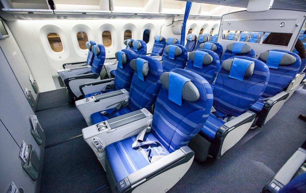 Лучшие места в самолете