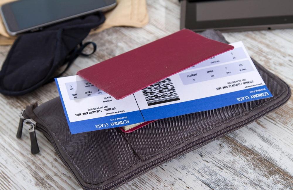 Билет на самолет с открытой датой