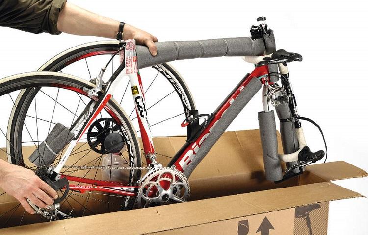Транспортировка велосипеда в самолете