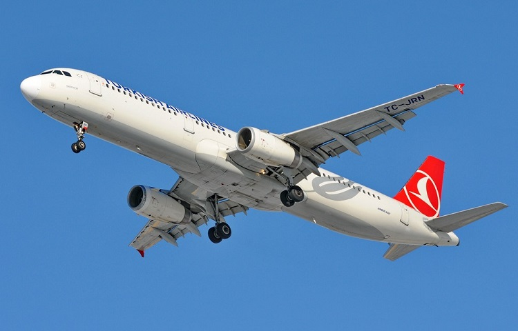 Аэробус 321 перевозчика Турецкие Авиалинии