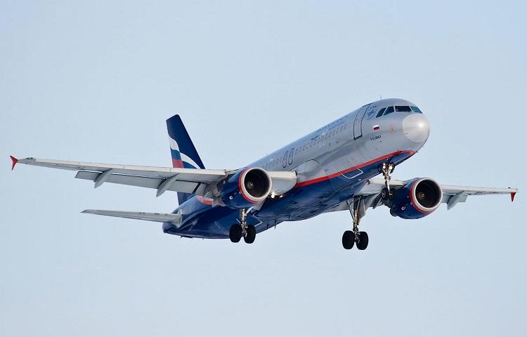 Аirbus 320 авиакомпании Аэрофлот