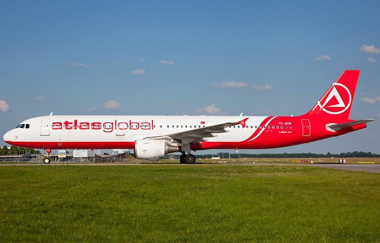 Самолет А321 авиакомпании Атлас Глобал