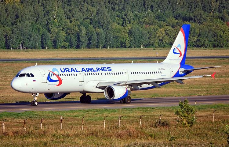Аэробус 321 авиаперевозчика Ural Airlines