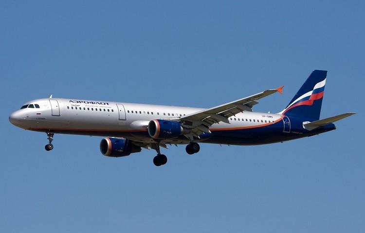 Airbus A321 авиакомпании Aeroflot