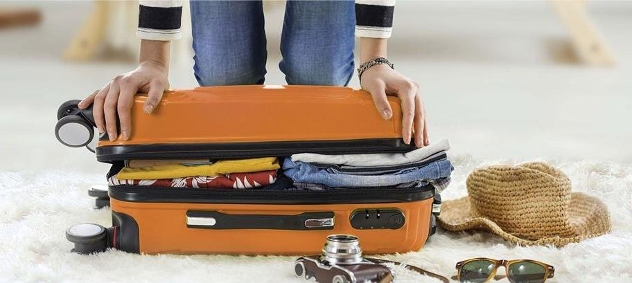 Перевозка вещей в багажном отделении лайнера Азур эйр