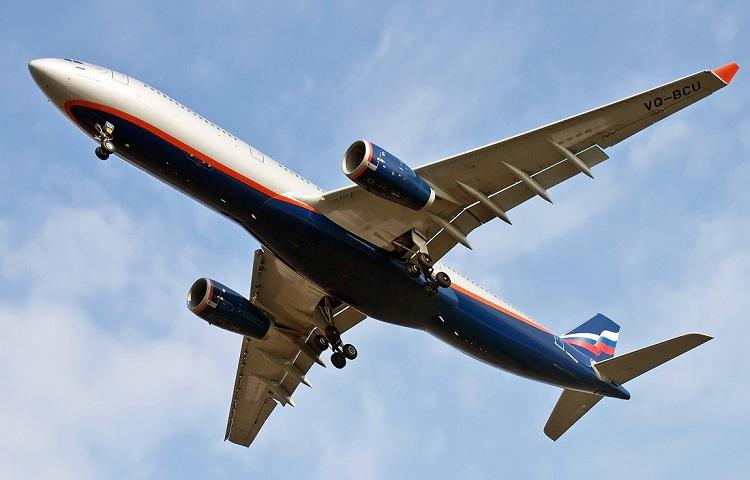 Аэробус 330 авиакомпании Aeroflot