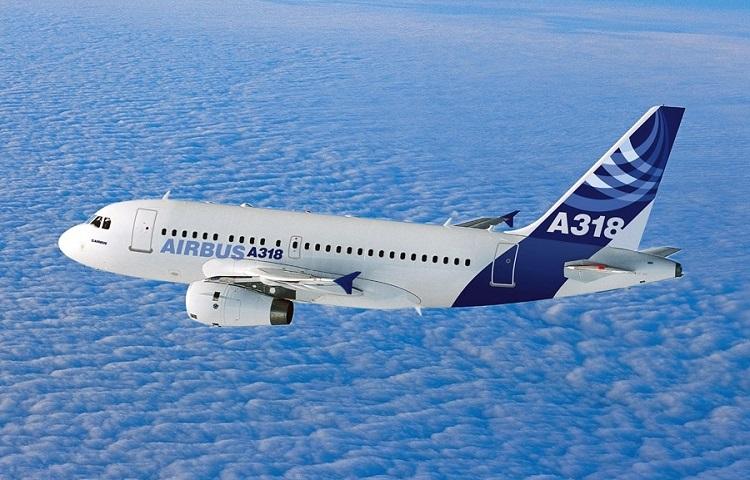 Авиалайнер Airbus А318