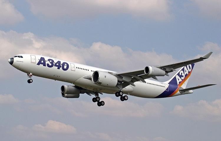 Самолет Airbus А340