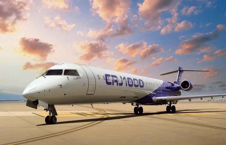Авиалайнер Bombardier CRJ-1000