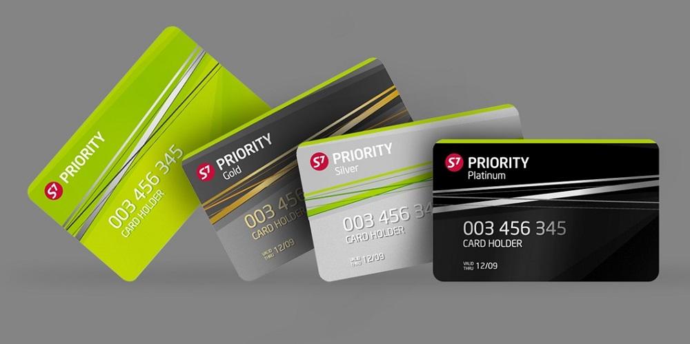 Бонусные карты S7 Priority