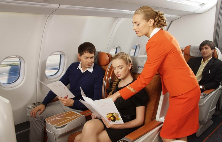 Заказ спецпитания на рейсе Аэрофлота