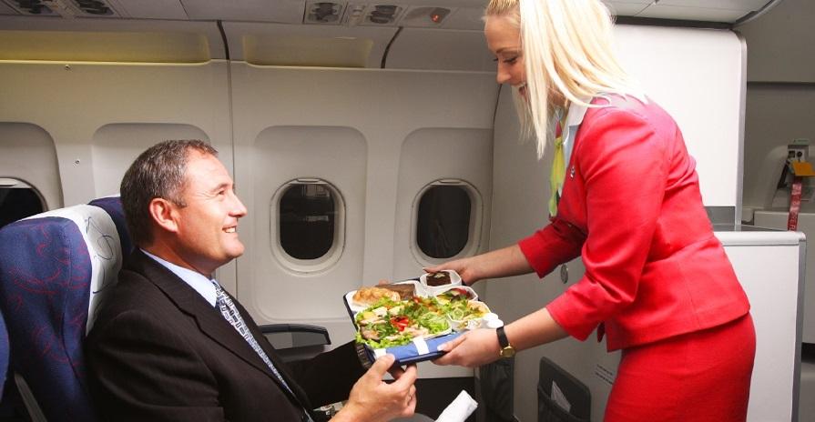 Еда на борту дальних и ближних рейсов Аэрофлота