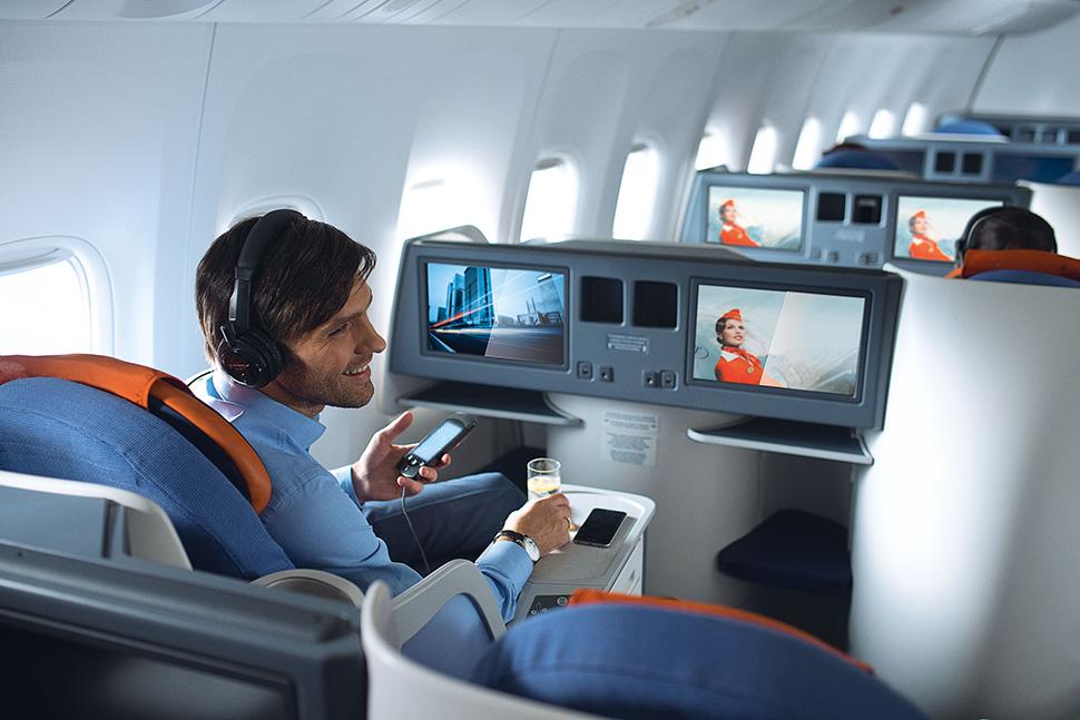 Обслуживание пассажиров в Аэрофлоте