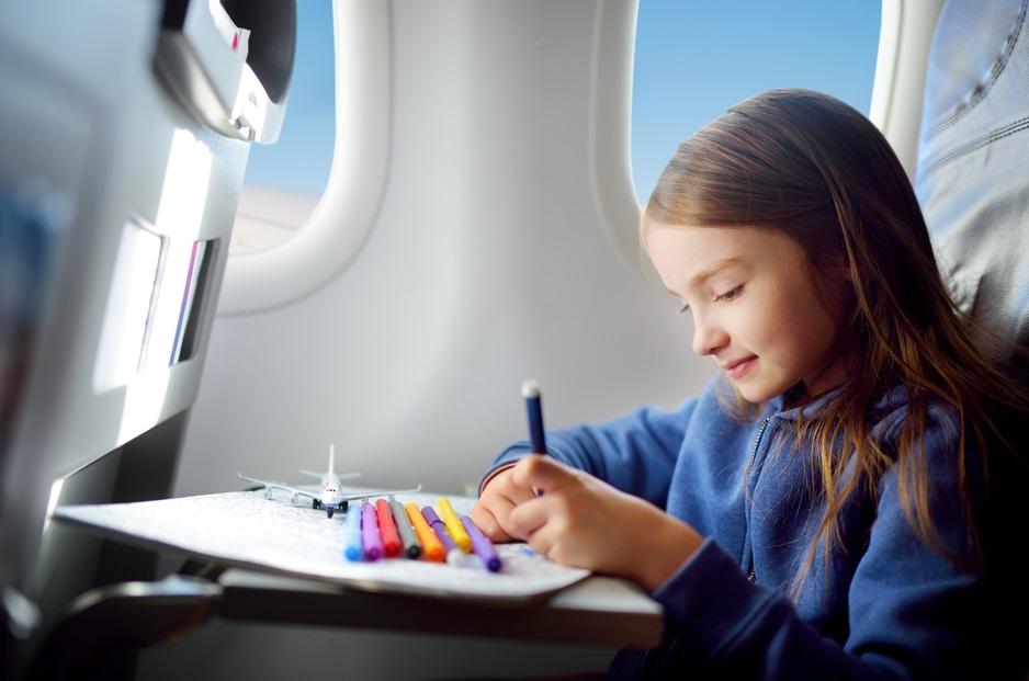 Полет с ребенком в самолете