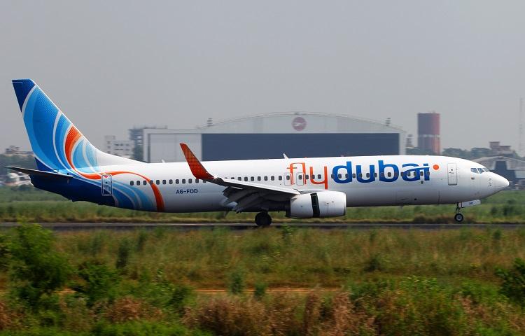 Лайнер Boeing 737-800 Флай Дубай