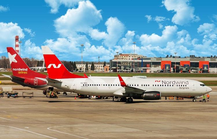Боинг 737 800 авиакомпании Nordwind Airlines