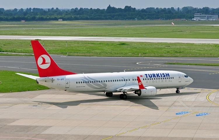 Самолет Боинг 737 800 Turkish Airlines