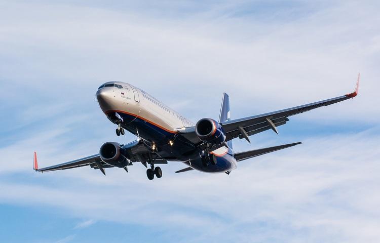 Самолет Boeing 737-800 авиакомпании Аэрофлот
