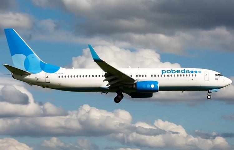 Boeing 737-800 авиакомпании Победа