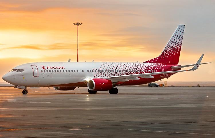 Boeing 737-800 авиакомпании Россия