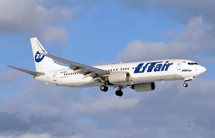 Boeing 737-800 авиаперевозчика ЮТэйр