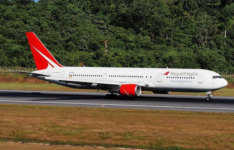 Боинг 767-300 авиакомпании Royal Flight