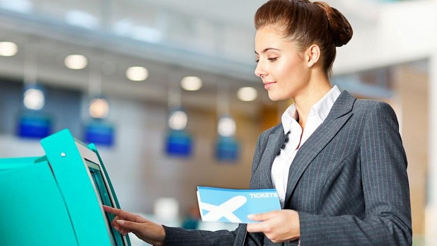 Саморегистрация на рейс в аэропорту Пулково
