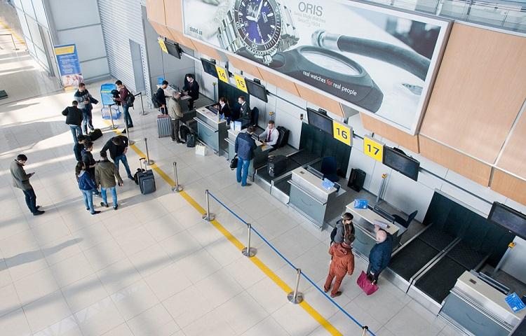 Регистрация на рейс компании Азимут