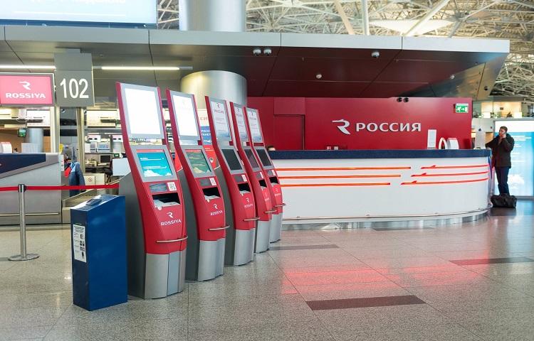 Регистрация на самолет авиакомпании Россия
