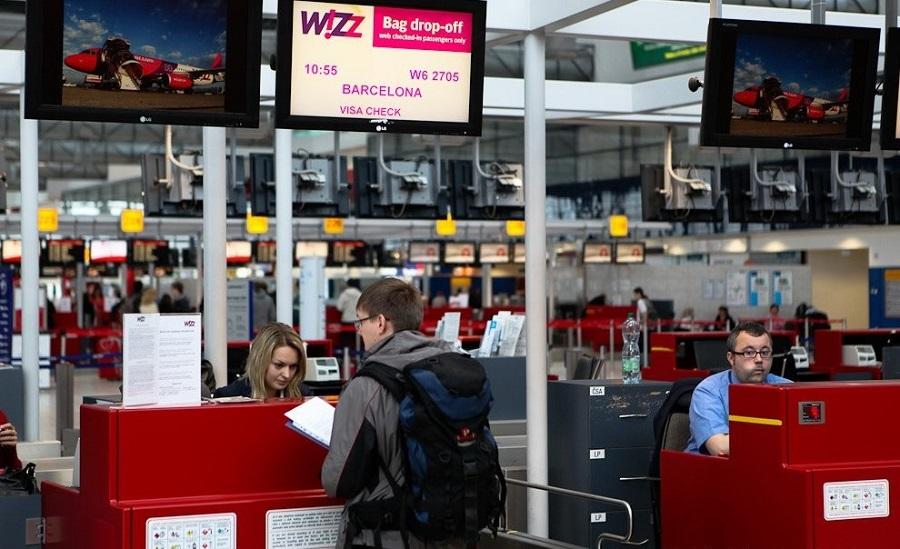 Регистрация на самолет Wizz Air