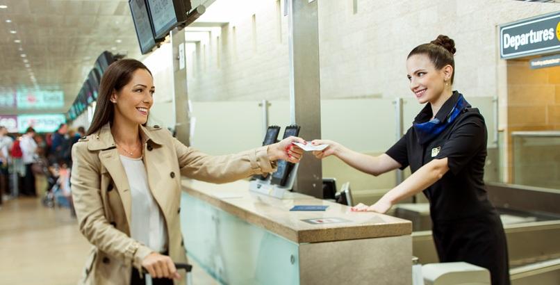 Регистрация на самолет Ай Флай в аэропорту вылета