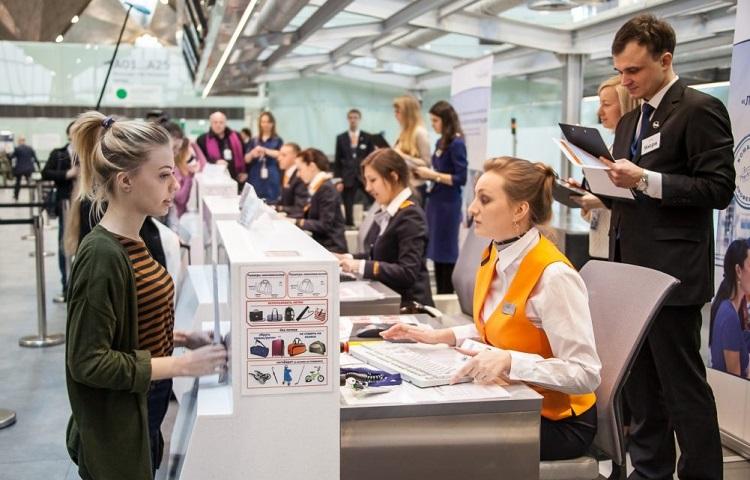 Регистрация на самолет в авиагавани Пулково