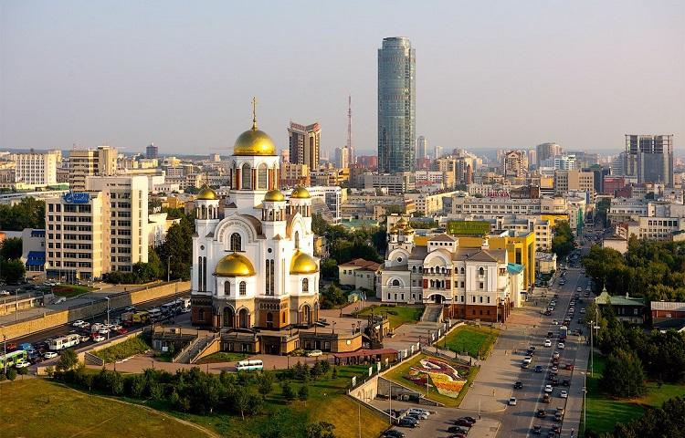 Авиаперелет из Москвы в Екатеринбург