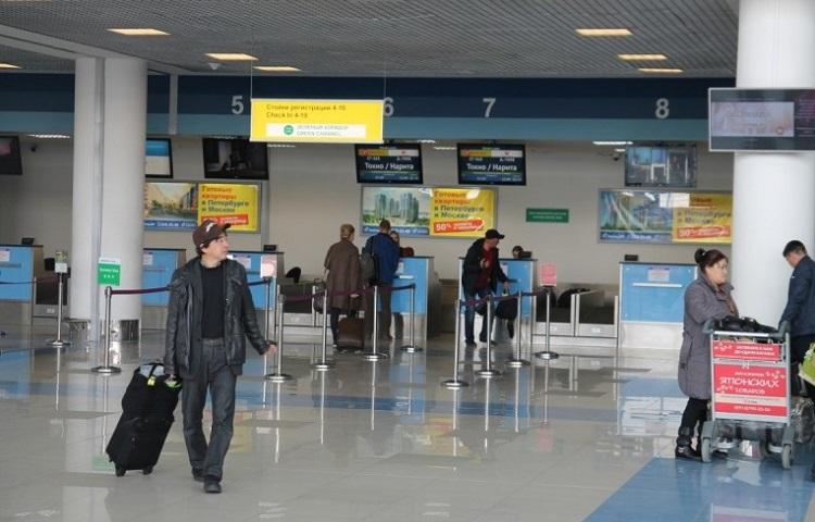 Прохождение регистрации на рейс компании Angara Airlines