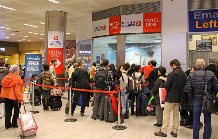 Как пройти регистрацию на самолет авиаперевозчика Turkish Airlines
