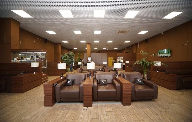 Бизнес зал в аэропорту Пашковский