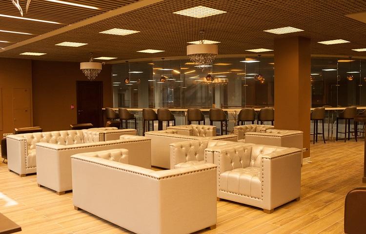 Бизнес-зал в аэровокзале Жуковский