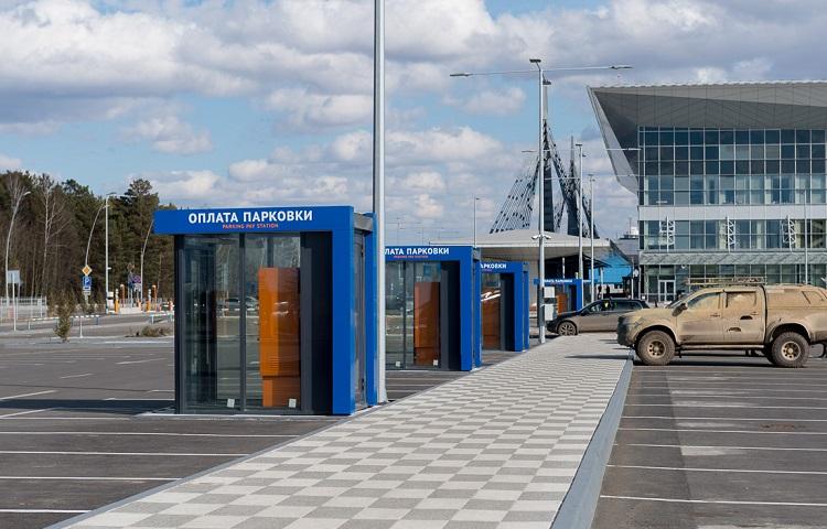 Парковки в авиагавани Красноярска