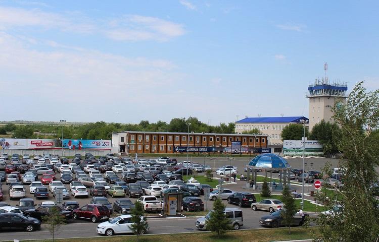 Парковки в авиагавани Оренбурга