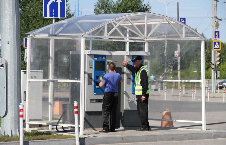 Стоянки в аэропорту Стригино